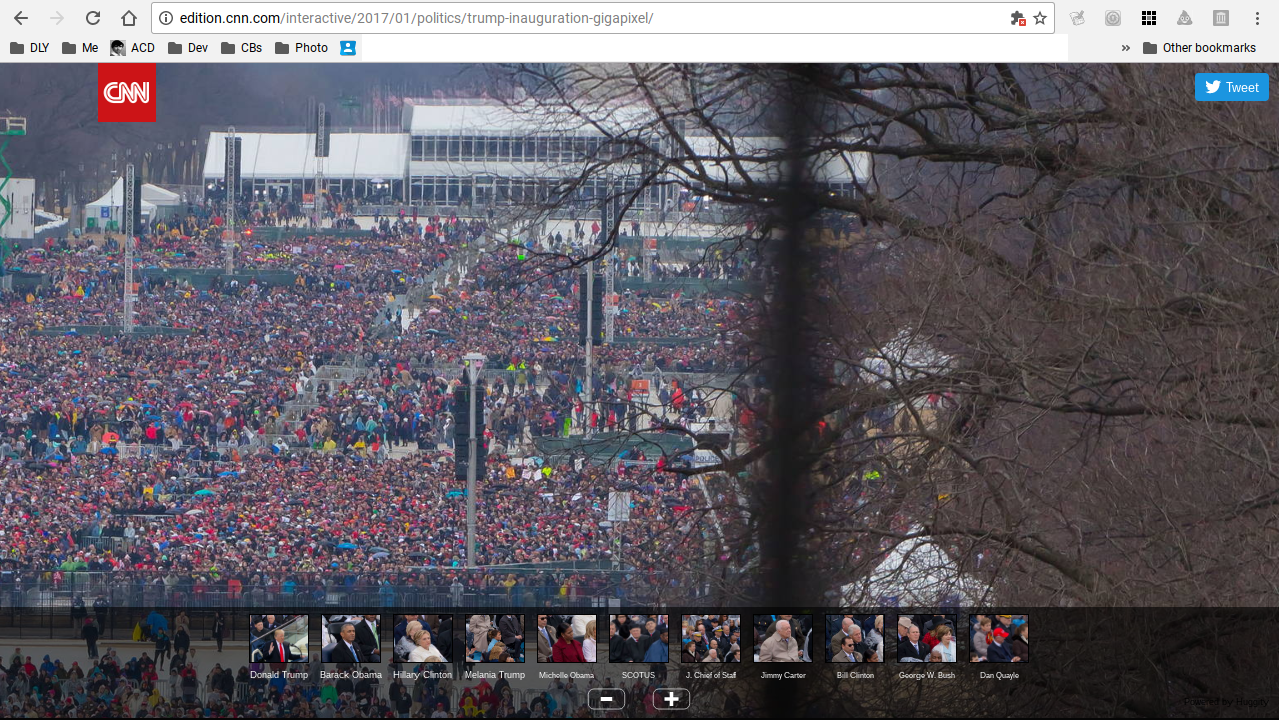Screen grab from CNN gigapixel